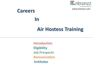 Careers In Air Hostess Training