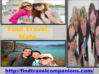 Find Travel Mate