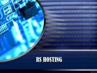 Managed Linux VPS- RS Hosting