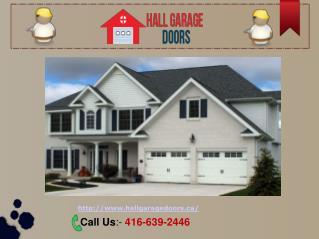 Toronto Garage Door Repair, Replacement & Installation Services
