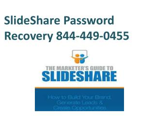 SlideShare Password Recovery