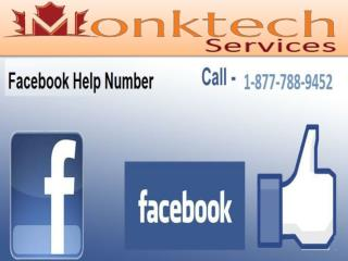 Facing any technical issue call facebook helpline number 1-877-788-9452