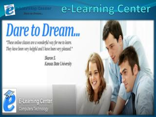 Free Online Courses - e-learningcenter.com