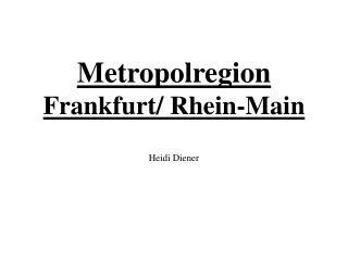 Metropolregion Frankfurt