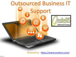 Outsourced Business IT Support