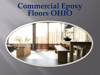 Commercial Epoxy Floors OHIO