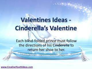 Valentines Ideas - Cinderella's Valentine
