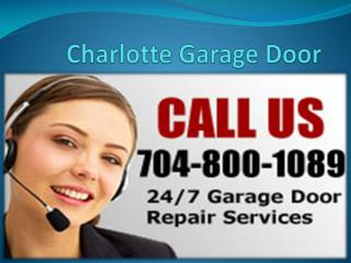 Charlotte Garage Doors - Repair