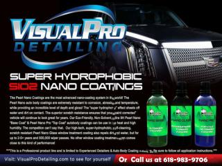 The high end auto detailing - Visual Pro Detailing
