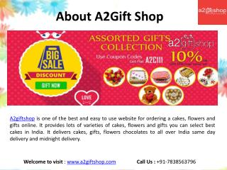 Send Online Cake Flower & Gift in India