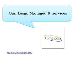 San Diego Managed It Services