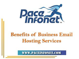 Benefits of Business Email Hosting Services