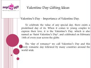 Share & Celebrate Your Love By Gifting
