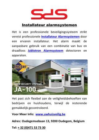 Installateur alarmsystemen