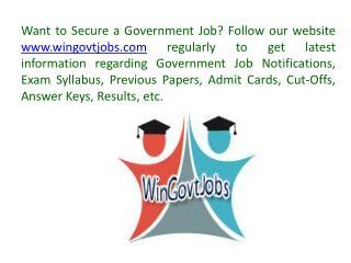 Win Govt Jobs