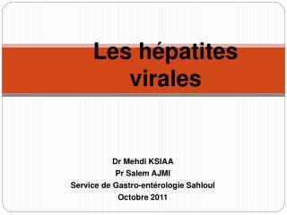 Les h patites virales