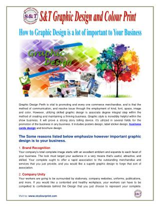How to Graphic Design is a lot of important to Your Business