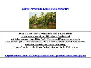 Summer Premium Kerala Package(3N/4D