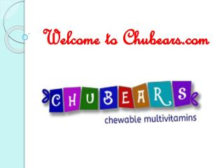 Organic Vitamins for Children Chubears Mumbai