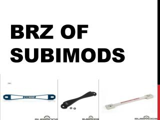 BRZ of Subimods