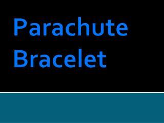 Parachute Bracelet