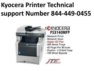 Kyocera Printer Technical support Number