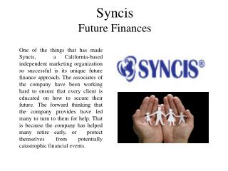 Syncis Future Finances
