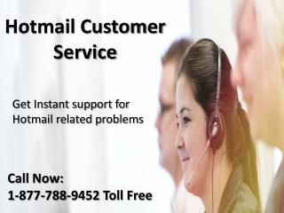 Hotmail customer service 1:877:788:9452 tollfree number for support