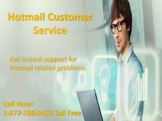 Get easy support Call {[1^877^788^9452]} Hotmail customer service  number