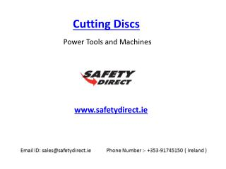 Cutting Discs in Ireland at SafetyDirect.ie
