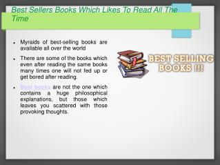 Best Selling Books