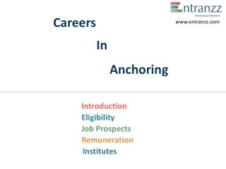 Careers In Anchoring