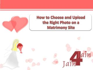 How to Choose and Upload the Right Photo on a Matrimony Site