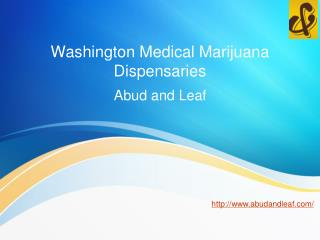 Washington Medical Marijuana Dispensaries