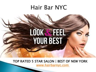 Best Hair Salon in NYC