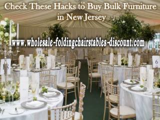Check These Hacks to Buy Bulk Furniture in New Jersey