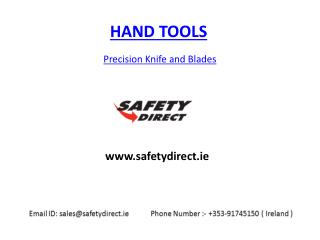 Precision Knife and Blades in safetydirect.ie