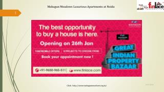 Mahagun Meadows Luxurious Apartments at Noida