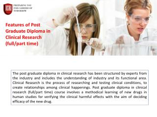 Best clinical Research course Institute for Placement