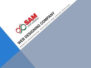WEB Designing company-Website redesigning services