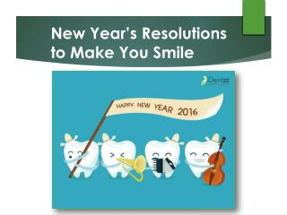 New Year's Resolutions to Make You Smile