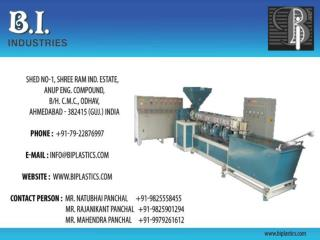 Manufacturer of Plastic Machinery