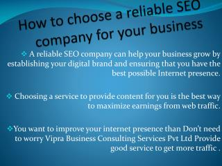 Top on google by best SEO company india