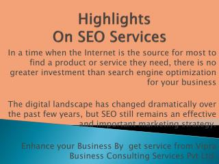 Boost site Ranking through SEO company India