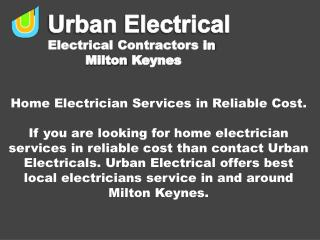 Home Electrician Services in Reliable Cost.
