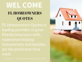 Affordable homeowners Insurance florida