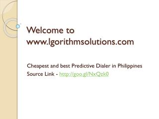 Cheapest and best Predictive Dialer in Philippines