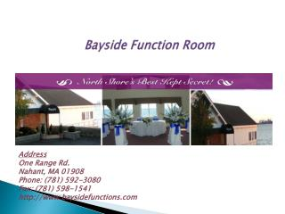 All Inclusive Wedding Packages, Ocean View, Wedding Venue and Waterfront Venue Boston MA