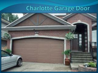 Garage Door Opener Charlotte