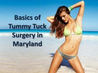 Basics of Tummy Tuck Surgery in Maryland